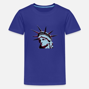Lady Liberty Lady Liberty - Teenager Premium T-Shirt