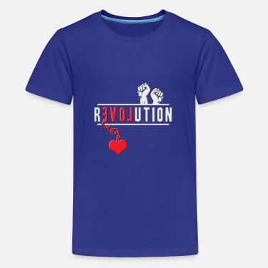 Revolution Revolution - Teenager Premium T-Shirt
