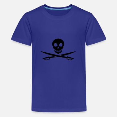 Pirate skull - Teenage Premium T-Shirt