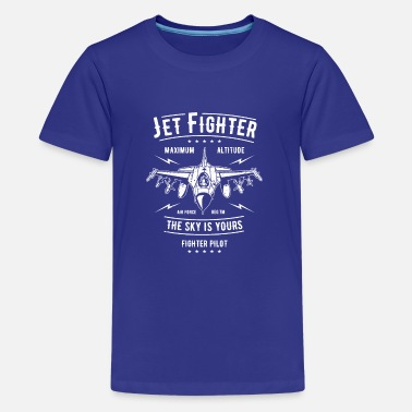 Jet Jet Fighter II - Teenage Premium T-Shirt