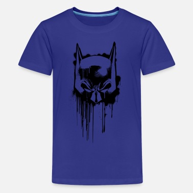Officialbrands Batman masque graffiti 2 Tee-shirt Homme - T-shirt premium Ado