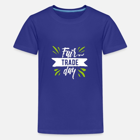 Product T-Shirts - Fair trade - Teenage Premium T-Shirt royal blue