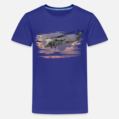 Helikopter - Teenage Premium T-Shirt