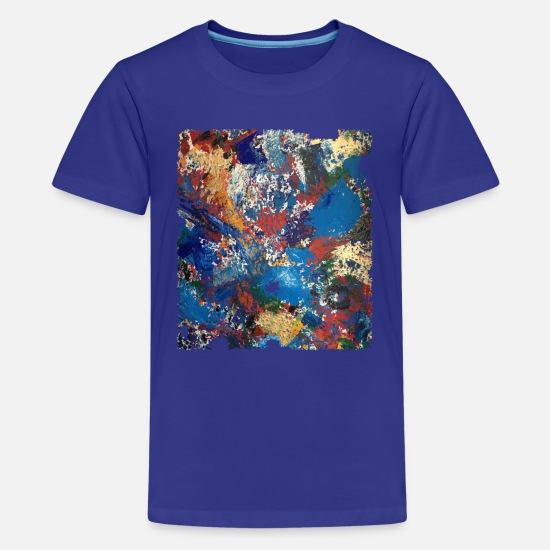 Painter T-Shirts - Gemalt in Farbe - Teenager Premium T-Shirt Königsblau