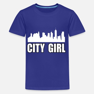 We Are Boston CITY GIRL - Teenage Premium T-Shirt