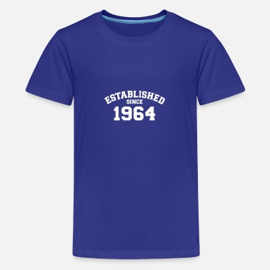 Established Established 1964 - Teenager premium T-shirt