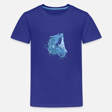 Nature Collection Mother Nature - Teenage Premium T-Shirt