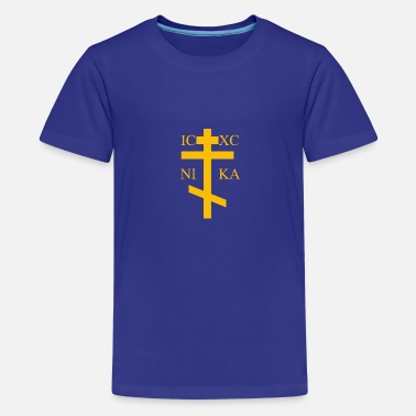 Orthodox Cross Orthodox - Teenage Premium T-Shirt