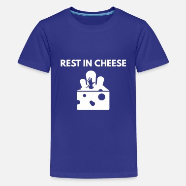 Rest REST IN cheese - Teenager Premium T-Shirt