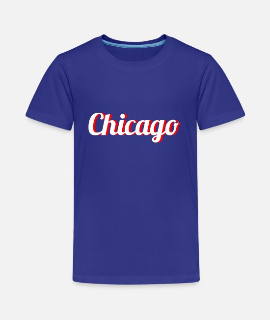 USA T-Shirts - chicago - Teenager Premium T-Shirt Königsblau