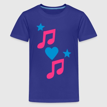 Love Music 3 - Teenager Premium T-Shirt