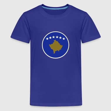 Kosovo, Kosova, Kosovë, Косово, Flagen, flags, Länder, countries, eushirt.com - Teenager Premium T-Shirt