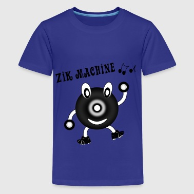 Zik machine - Teenage Premium T-Shirt
