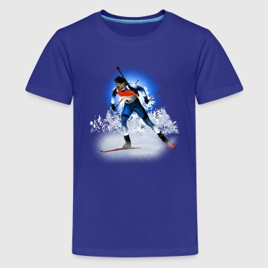 biathlon - Teenage Premium T-Shirt