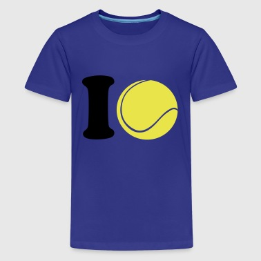 I love Tennis - Teenager Premium T-Shirt