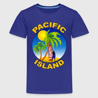 tahiti pacific island - Teenage Premium T-Shirt