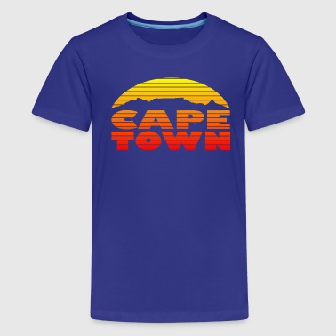 TableMountain-Sunset - Teenage Premium T-Shirt