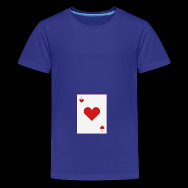 poker card - Teenage Premium T-Shirt