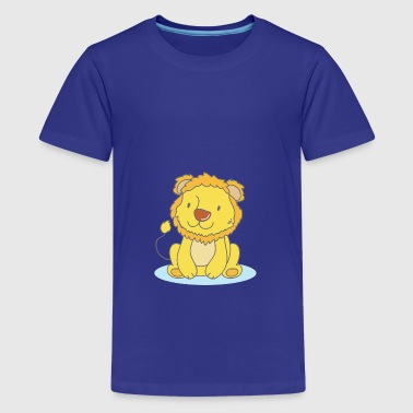 Lila The Lion - Teenager premium T-shirt