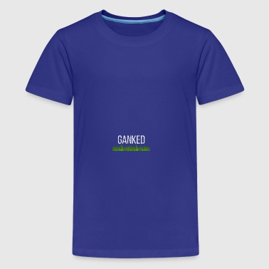 T shirt template Gank only - Teenager Premium T-Shirt