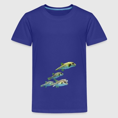 fish - Teenage Premium T-Shirt