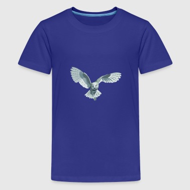 barn owl - Teenage Premium T-Shirt