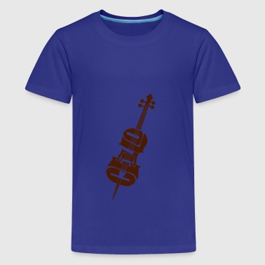 cello - Teenage Premium T-Shirt