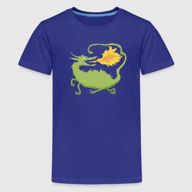 Feuerdrache - Teenager Premium T-Shirt