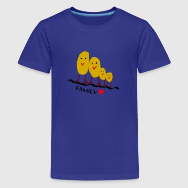 familie - Teenager Premium T-shirt
