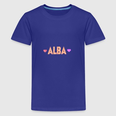 Alba - Teenager Premium T-Shirt