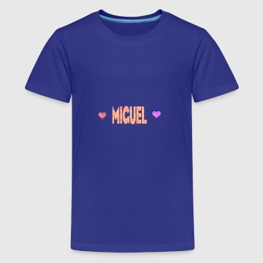 Miguel - Teenager Premium T-Shirt
