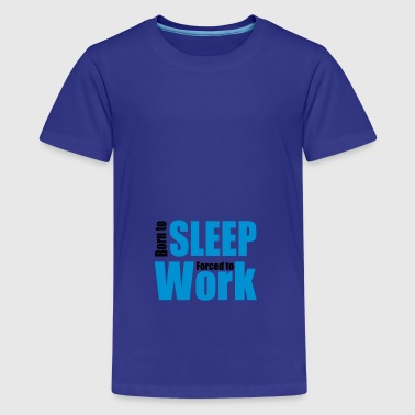 2541614 13250375 sleep - Teenage Premium T-Shirt