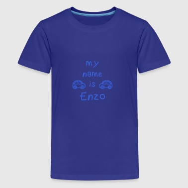 ENZO MY NAME IS - Teenage Premium T-Shirt