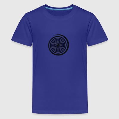 swirl - Teenage Premium T-Shirt