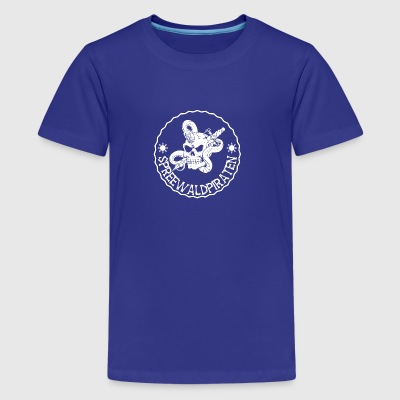 Spreewaldpiraten Logo - Teenager Premium T-Shirt