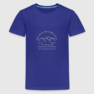 Kanada Rocky Mountains - Teenager Premium T-Shirt