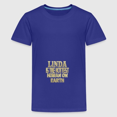 Linda - Teenage Premium T-Shirt