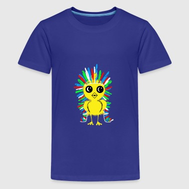 apache chick - Teenager premium T-shirt