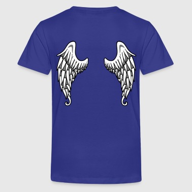 Angel Wings - Teenager premium T-shirt