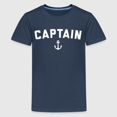 Captain Nautical Quote  - Teenage Premium T-Shirt