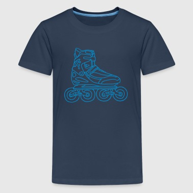 Inline Skates - Teenage Premium T-Shirt