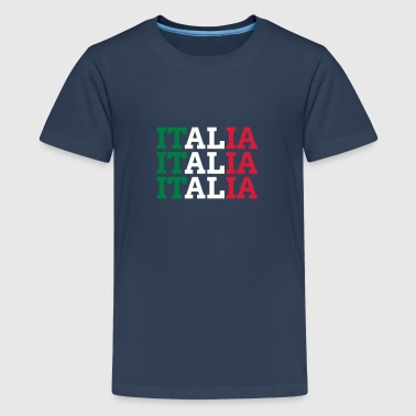 ITALIAN - Teenage Premium T-Shirt