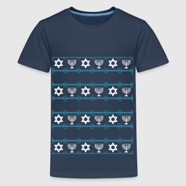 hanukah winter - Teenager Premium T-Shirt
