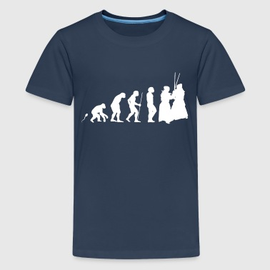 Wing Chun Evolution witziges Fun Shirt - Teenager Premium T-Shirt