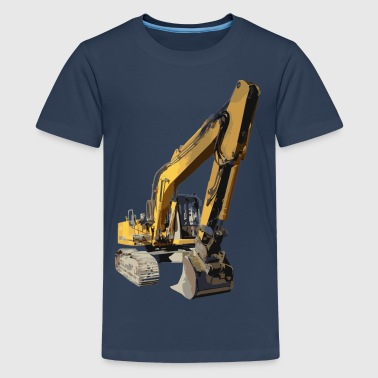 excavator - Teenage Premium T-Shirt