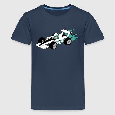 Formula 1 Formula Race car - Teenage Premium T-Shirt
