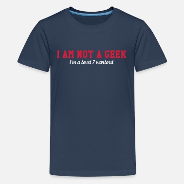 Jdr I am not a Geek - T-shirt Premium Ado