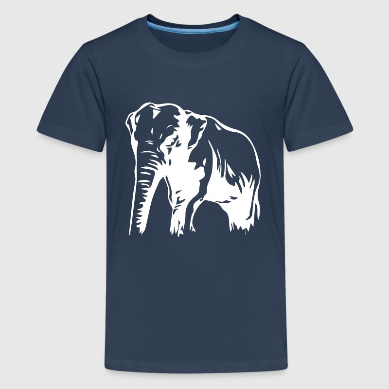 Thailand Elefant - Teenager Premium T-Shirt