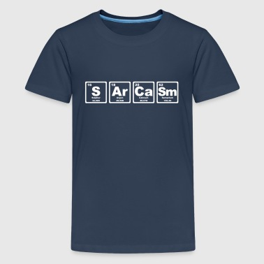 SARCASM PERIODIC TABLE - T-shirt Premium Ado