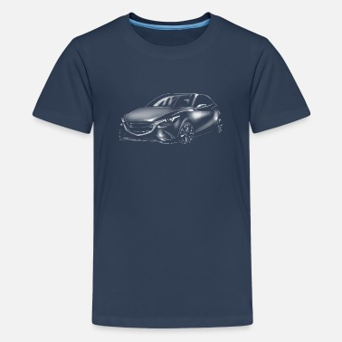 Sos Car - Teenage Premium T-Shirt